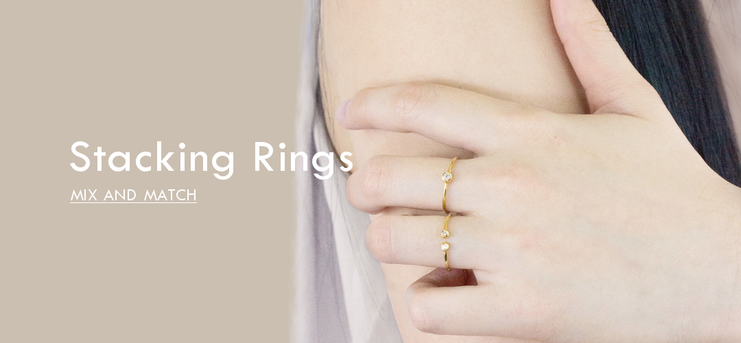 Stacking Rings Mix and Match
